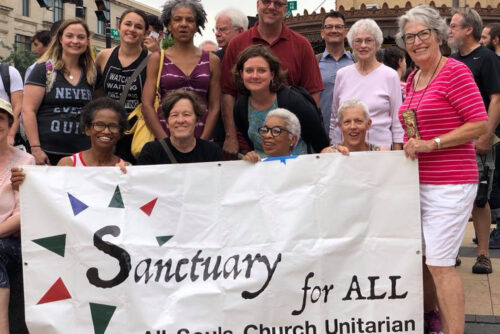 All Souls sanctuary action.