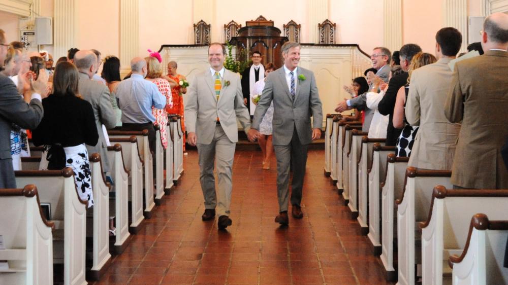 Wedding at All Souls