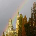 Rainbow over All Souls