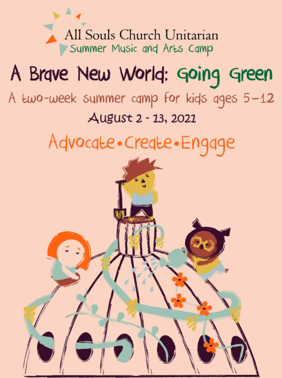 Music and Arts Camp, August 2 - 13, 2021