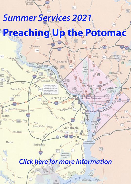 Preaching Up the Potomac Summer Worship Series