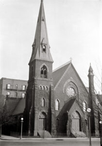Second All Souls Church building on 14th at L Street NW.